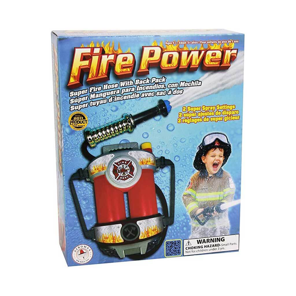 Fire Power Back Pack Super Soaker The Fasny Museum Of Firefighting